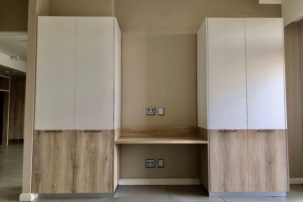 Menlyn Maine Apartment Finishes Cupboards