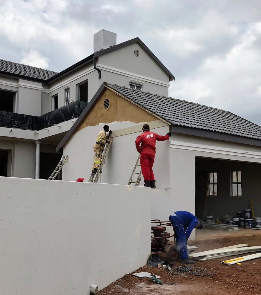 House Builders in Pretoria | building contractors painting walls and renovating